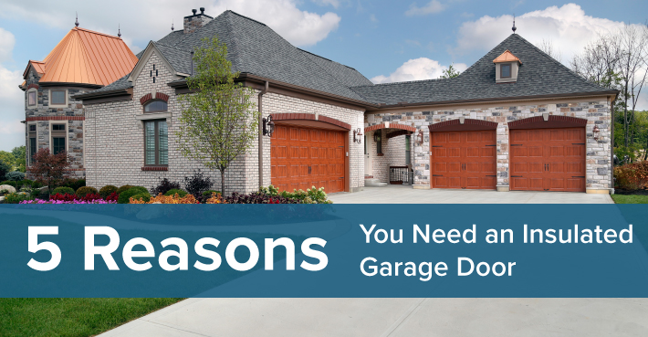 reasons insulated garage doors twin cities